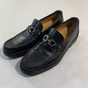 Salvatore Ferragamo Glasgow Loafer Shoes Leather 9